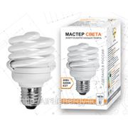 Компактные люминесцентные лампы МАСТЕР СВЕТА T2 SPC 20W E27 4200 фото