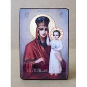 Ікона Богородиця Одигітрія код IC-12-15-22 фото
