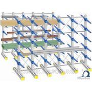 Консольные стеллажи для легких и тяжелых грузов. Продажа консольных стеллажей фото