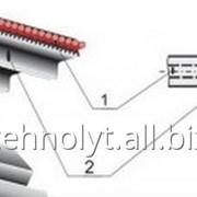 Ремень зубчатый с металлокордом фото