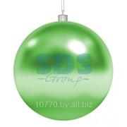 """Елочная фигура """"Шар"""", 20 см, цвет зеленый фото"""