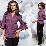9a783f17778 Модная женская рубашка с красивыми пышными рукавами (разные цвета) фото