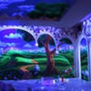 Флуоресцентная краска для различных поверхностей фото