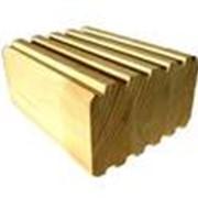 Клеёный брус из лиственницы фото
