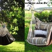 Гамак-кресло для дома и сада, для отдыха и интерера фото