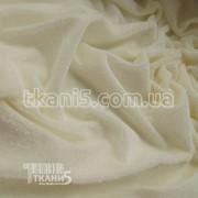 Ткань Велюр ( молочный ) 2589 фото