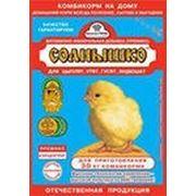Премикс «Солнышко» для цыплят, индюшат, гусят и утят фото