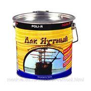 Лак яхтный, Поли-Р глянцевый, 0.75 л, бесцветный фото
