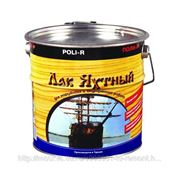 Лак яхтный, Поли-Р полуматовый, 0.75 л, бесцветный фото