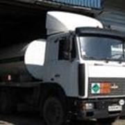 Перевозка опасных грузов специализированным транспортом.