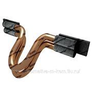 Соединитель стыковой приварной сталемедный двух проволочный СПСМ фото