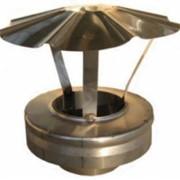 Заглушки, заглушка верхняя с зонтом 150/200 фото