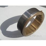 Втулка муфты ЖДМ-003 - ЖДРУ-303527.001 сталь/бронза фото