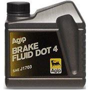 Тормозная жидкость AGIP BRAKE Fluid DOT-4 0,25л фото