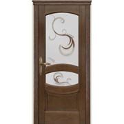 Деревянные двери из сибирской сосны фото