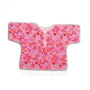 Рубашка для новорождённого 3355-к кулирная гладь, размер 36-56 фото