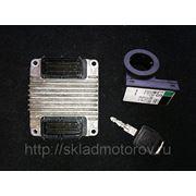ЭБУ ECU блок управления двигателем DXMH 12242030 для Опель Зафира , Опель Астра GZ16XE 1.6л бензин фото