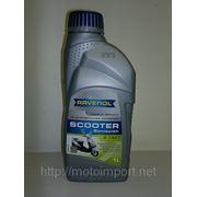 Масло RAVENOL Scooter. 4-Takt (полусинтетическое) (1литр,скутер)