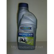 Масло RAVENOL Scooter. 4-Takt (полусинтетическое) (1литр,скутер) фото