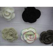 Цветы пришивные фото