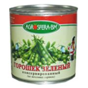 Зеленый горошек консервированный 425 мл фото