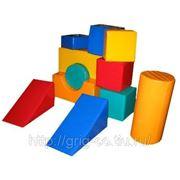 Комплект мягких модулей, напольный, 11 элементов (арт. СД-026) фото