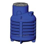 Пластиковый кессон для скважины и резервуар КНС фото