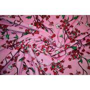 """Велсофт розовый """" Вишнёвый сад """" фото"""