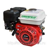 Бензиновый двигатель Green-Field (Greenfield) GF 168 F (GX160) фото