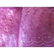 Ткань батист гладкокрашенный с вышивкой ш. 115 см