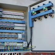 Разработка электрических схем управления холодильным агрегатом фото