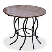 Стол круглый садовый «Восемь ног» фото