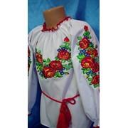 Вышивка-блузка оптом Україна фото