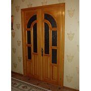 Двери деревянные резные фото