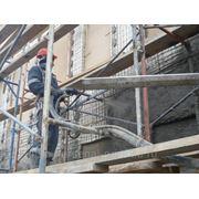 Ремонтная сухая смесь для полусухого торкретирования МБВ200 Гора Хрустальная защиты и восстановления