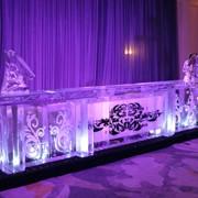Ледяные барные стойки фото