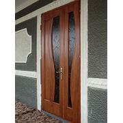 Двери из натурального дерева фото