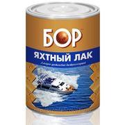 "Лак яхтный глянцевый бесцветный ""БОР"" 1 л. фото"