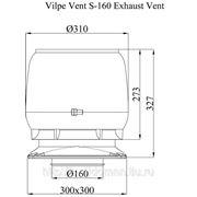 S -160 вентиляционный выход