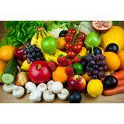 Свежие овощи и фрукты фото