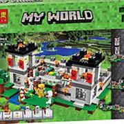 Конструктор Мой Мир «Крепость» 990 дет. 10472 фото