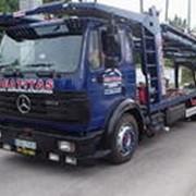 Автопоезда грузовые б/у в Литве фото