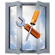 Ремонт металлопластиковых окон и дверей фото