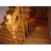 Шары на столб лестницы фото