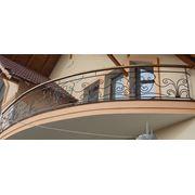 Балконнные перила металлические фото