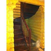 Лестница из бука фото