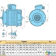 Двигатель лебедки ККЕ 1405-4, 6А фото