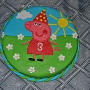 Торт детский Пеппа фото