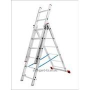 Лестницы алюминиевые трехсекционные от ТОО Avangard KZ фото