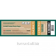 Бумага рулонная 140g/m2,Matt 914mm*30m A0 *50,8мм Lomond L1202082 фото